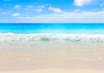 Storm Waves Beach