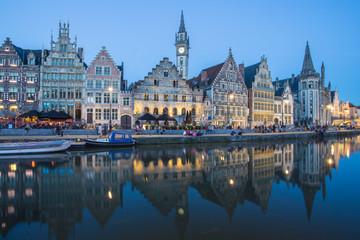 Travel Belgium Ghent Medieval Town