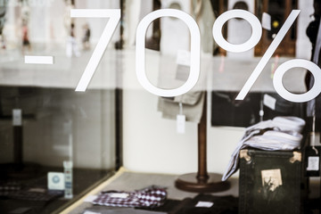 Sale concept -70%