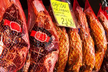 jamon on the market