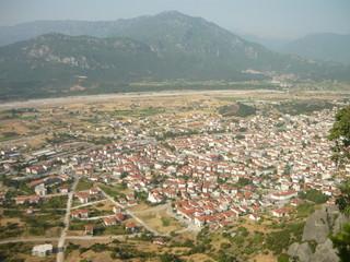 City of Kalambaka, Greece