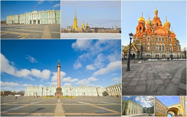 St. Petersburg. Russia (collage)