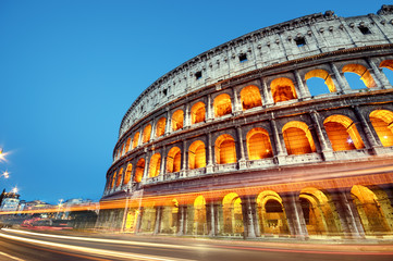 Wall Mural - Colosseum in Rome - Italy