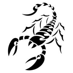 Tatouage Scorpion Tribal