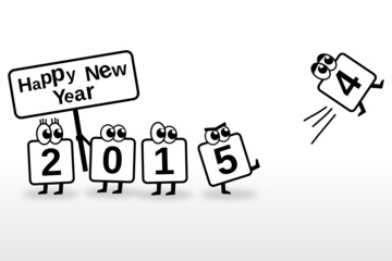 New Year Toon 2015