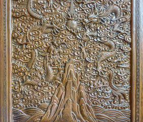 The art of Chinese wood engraving
