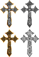 Ghotic Cross Design