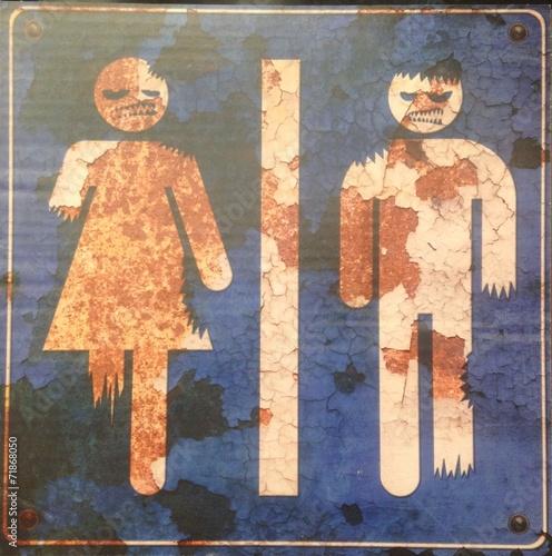 """Bathroom Sign Halloween search photos """"bathroom sign"""""""