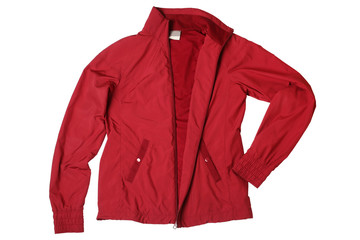 Red woman's sports jacket