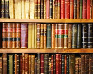 Libros antiguos, librería, biblioteca