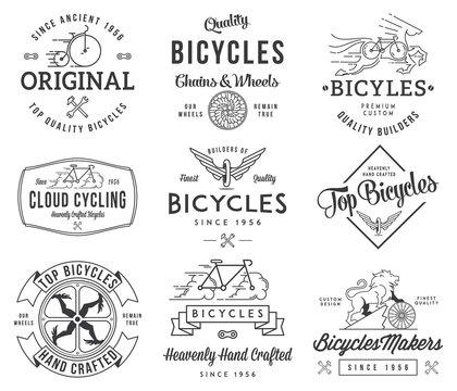 Bicycle Builders set 1