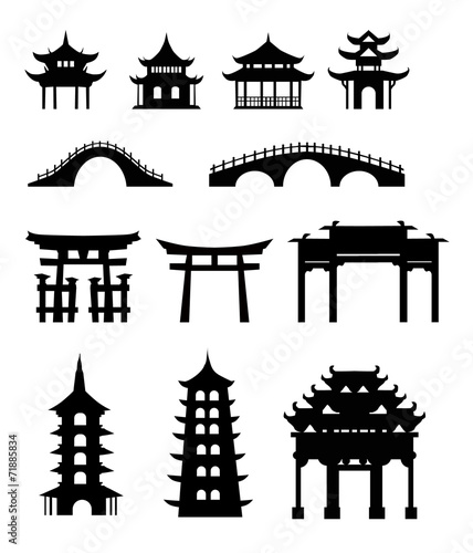 """""""Chinese traditional buildings"""" Stock image and royalty ..."""