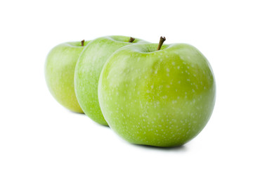 Wall Mural - Three Green Apple