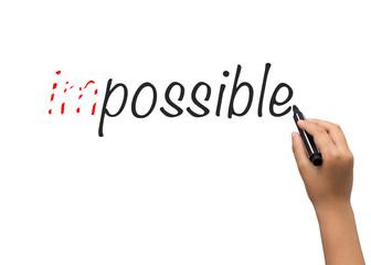 Pen writes imposibble on paper