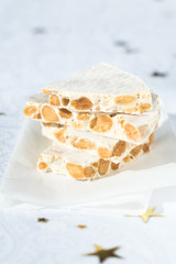 Nougat - Traditional italian and spanish Christmas dessert