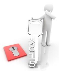 3d people key