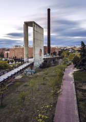 City of Madrid. Park Tierno Galvan