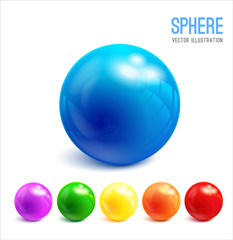 3d Sphere vector object