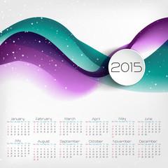Calendar design. Vector illustration