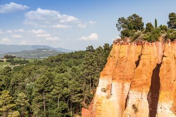 Wall Mural - Roussillon ochres