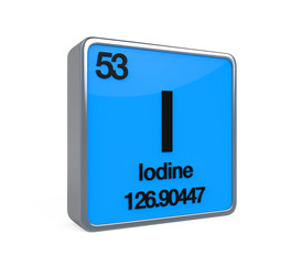 Iodine Element Periodic Table
