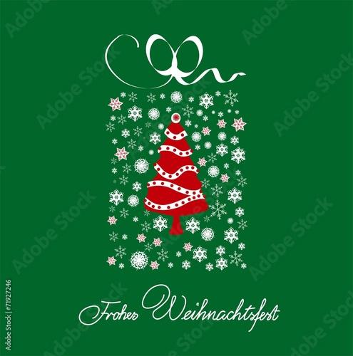 weihnachtsgru karte gr n wei stockfotos und lizenzfreie vektoren auf bild 71927246