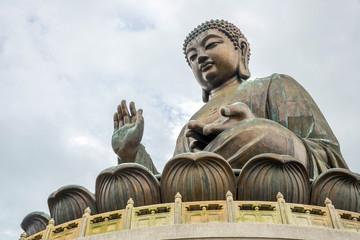 Giant Buddha at Po Lin Monastery Hong Kong