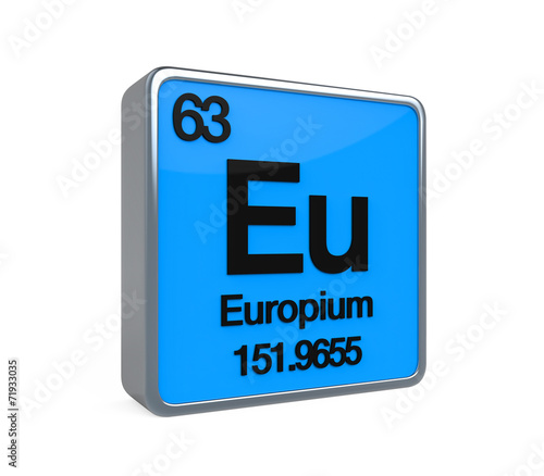 Europium Element Periodic Table Stock Photo And Royalty Free Images