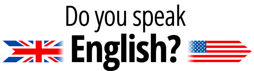 do does speak english Inglês