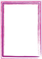 Rahmen rosa pink