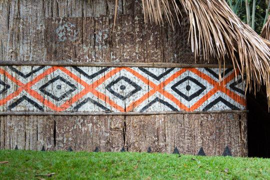 Indian Hut in Brasil.