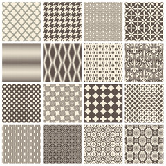 large collection of seamlessly tiling patterns