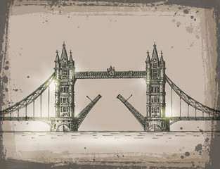 London. Vector format