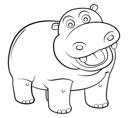 hippos Cartoon