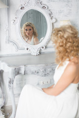 Bride wedding portrait woman fashion