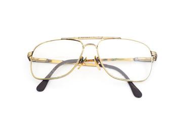 old longsighted eye glasses , two lens