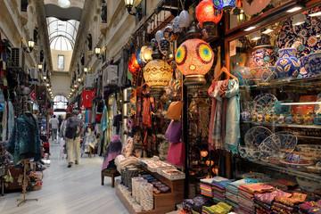 Fotorolgordijn Turkije Grand Bazaar / Kapalıçarşı, Istanbul, Turkey.