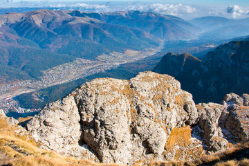 Landscape from Bucegi Mountains