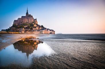 Le Mont Saint Michel Fototapete