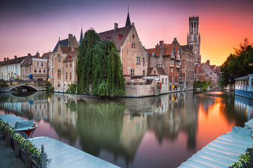 Canvas Prints Bridges Bruges