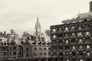 Empire State Building from Chelsea, Manhattan
