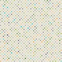 Seamless dotted pattern background