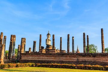 Sukhothai historical park around 800 years in Thailand