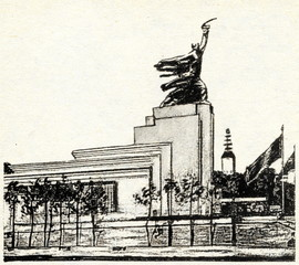 EXPO Paris 1937 - Soviet pavilion