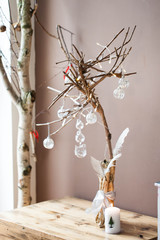 Christmas decoration - modern Christmas tree