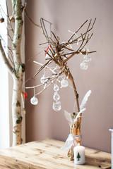Christmas decoration - modern Christmas tree