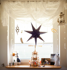 Christmas decoration - window