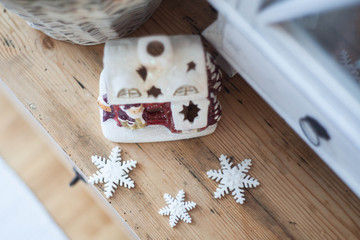 Christmas decoration - snowflakes