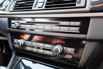 Climate control in a modern car