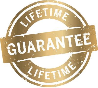 Button LifeTime Guarantee